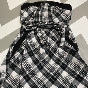 Speechless Mini Strapless Dress